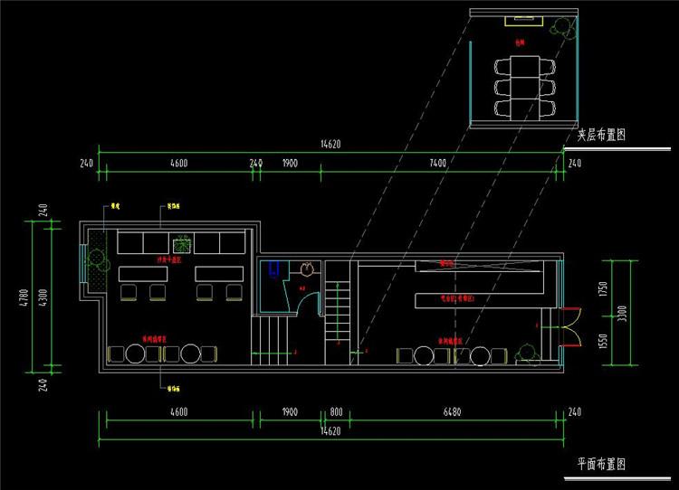 13茶馆CAD设计图