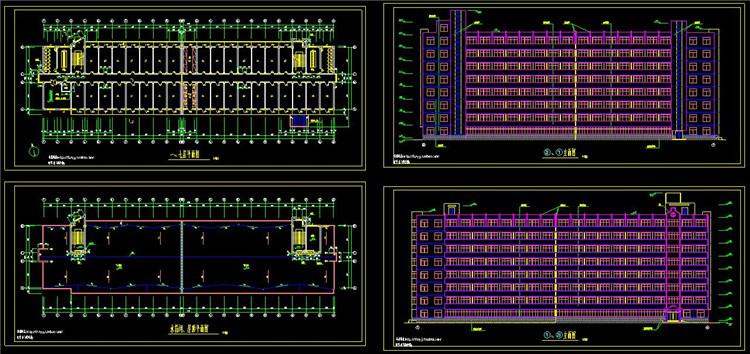 14住宅CAD户型图