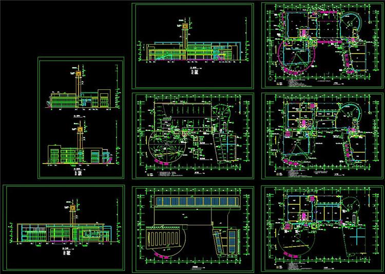 14大学生活动中心设计