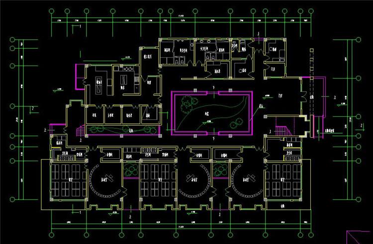 14幼儿园CAD图纸8