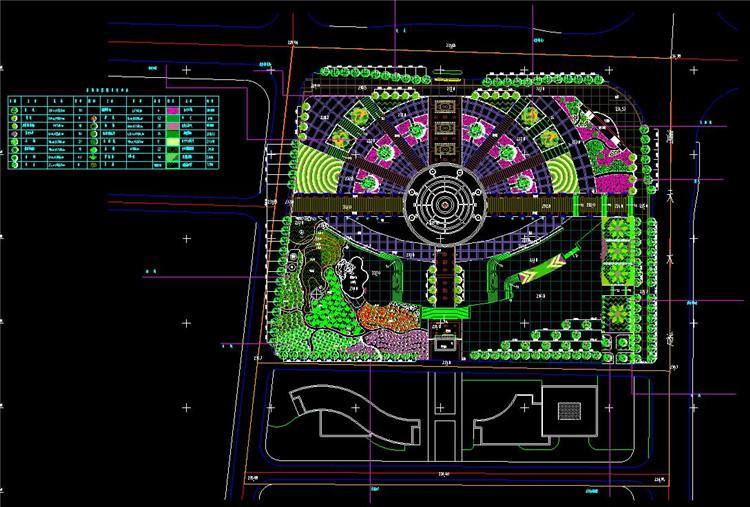 14广场绿化设计方案