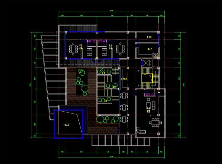 14茶室CAD方案图