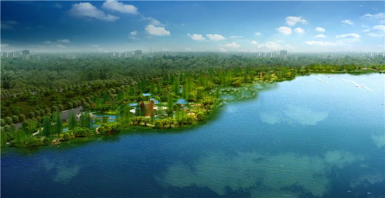 15中式水景PSD文件