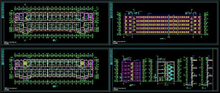 15公寓CAD户型图