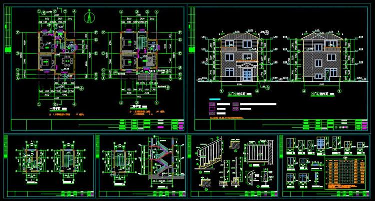 15别墅CAD图纸