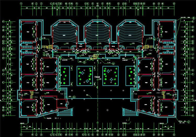 15大学CAD平面图1