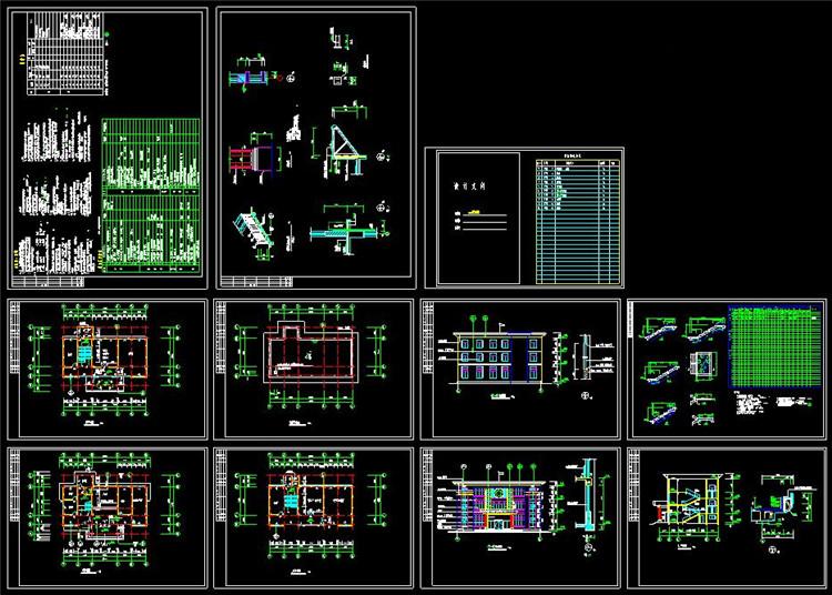 15社区活动中心CAD图纸