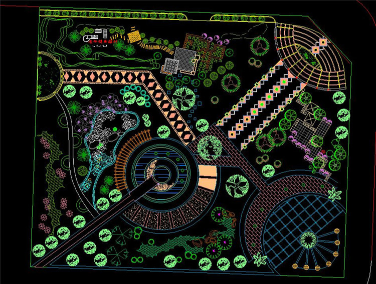16广场全套施工图