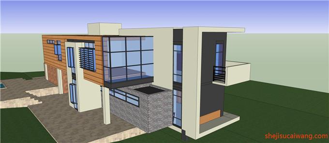 别墅模型SU2