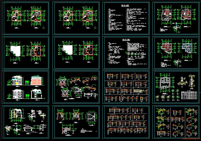 景区规划CAD图1