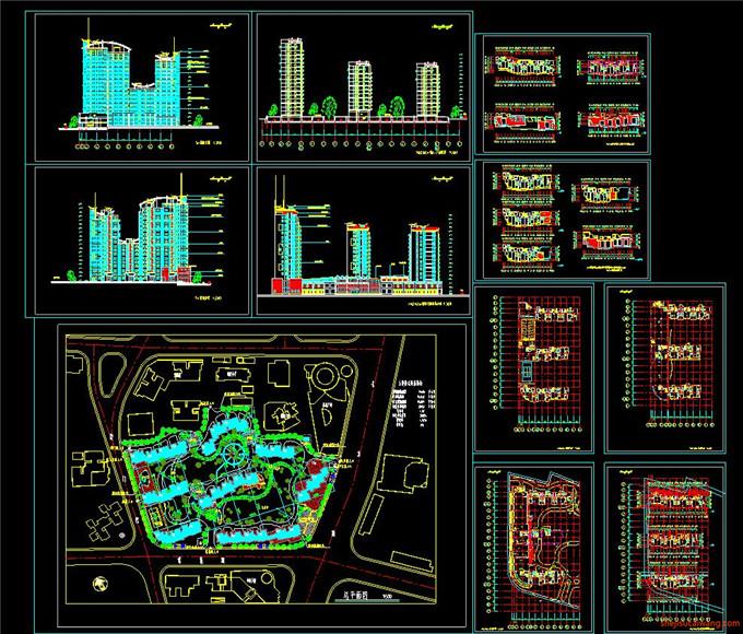 景区规划CAD图3