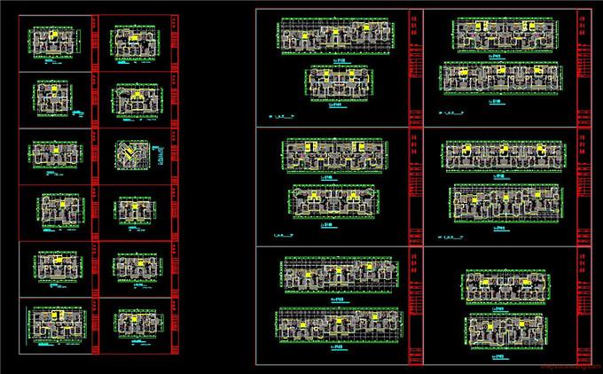 经典住宅户型图20个