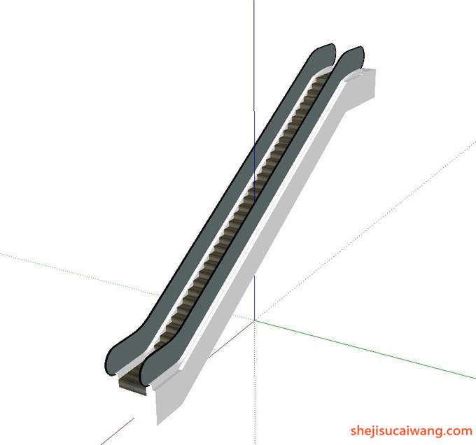 自动扶梯SU模型12