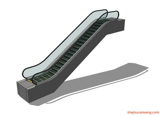 自动扶梯SU模型9
