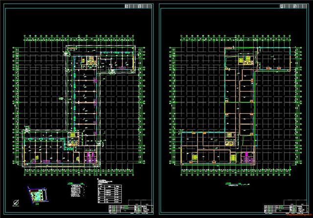 公寓CAD户型图施工图1
