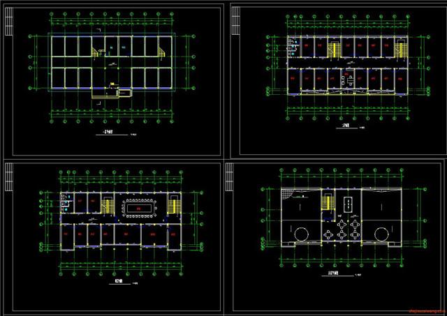 办公楼行政楼CAD施工图6