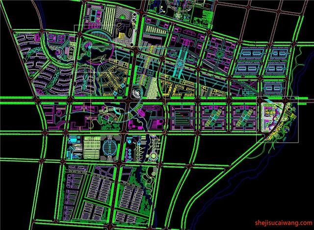城市规划CAD图纸12