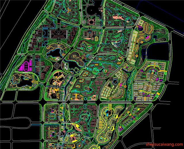 城市规划CAD图纸14