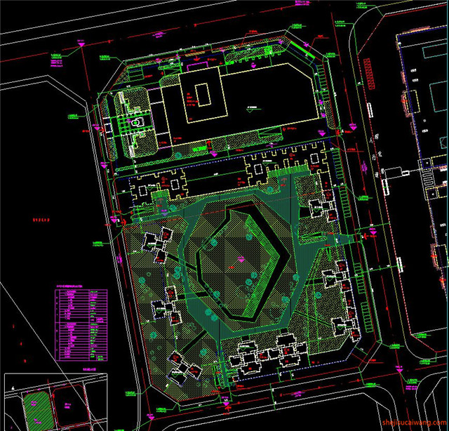 建材市场CAD施工图3