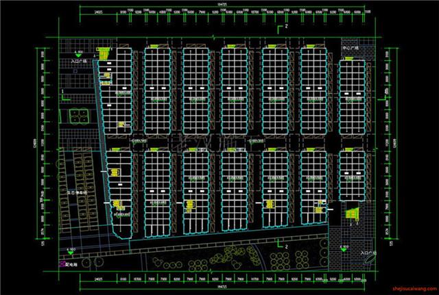 建材市场CAD施工图5