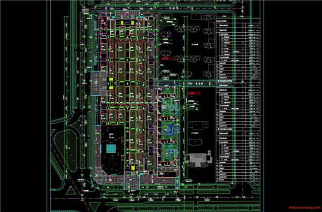 建材市场CAD施工图6