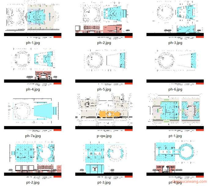 建筑方案文本100套1