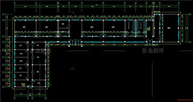 教学楼综合楼CAD施工图11