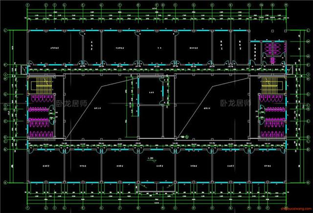 教学楼综合楼CAD施工图6