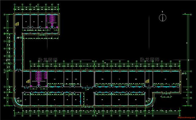 教学楼综合楼CAD施工图7