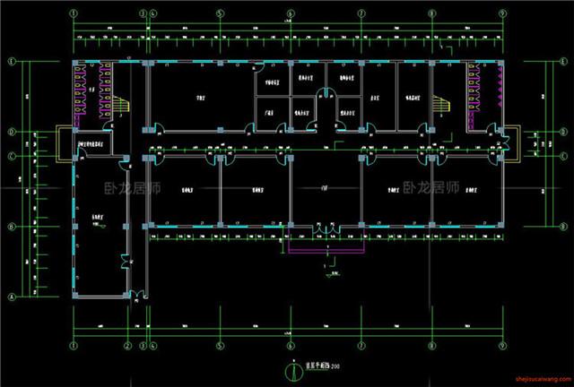 教学楼综合楼CAD施工图8