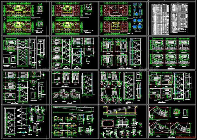 楼梯电梯CAD节点详图8