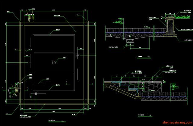 运动场CAD平面详图2