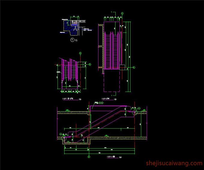 002-滚梯详图(一)